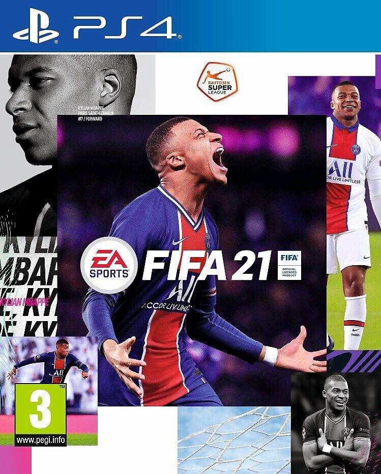 FIFA 21 [PS4] (D/F/I)