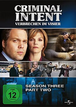 Criminal Intent - Verbrechen im Visier - Season 3.2 DVD