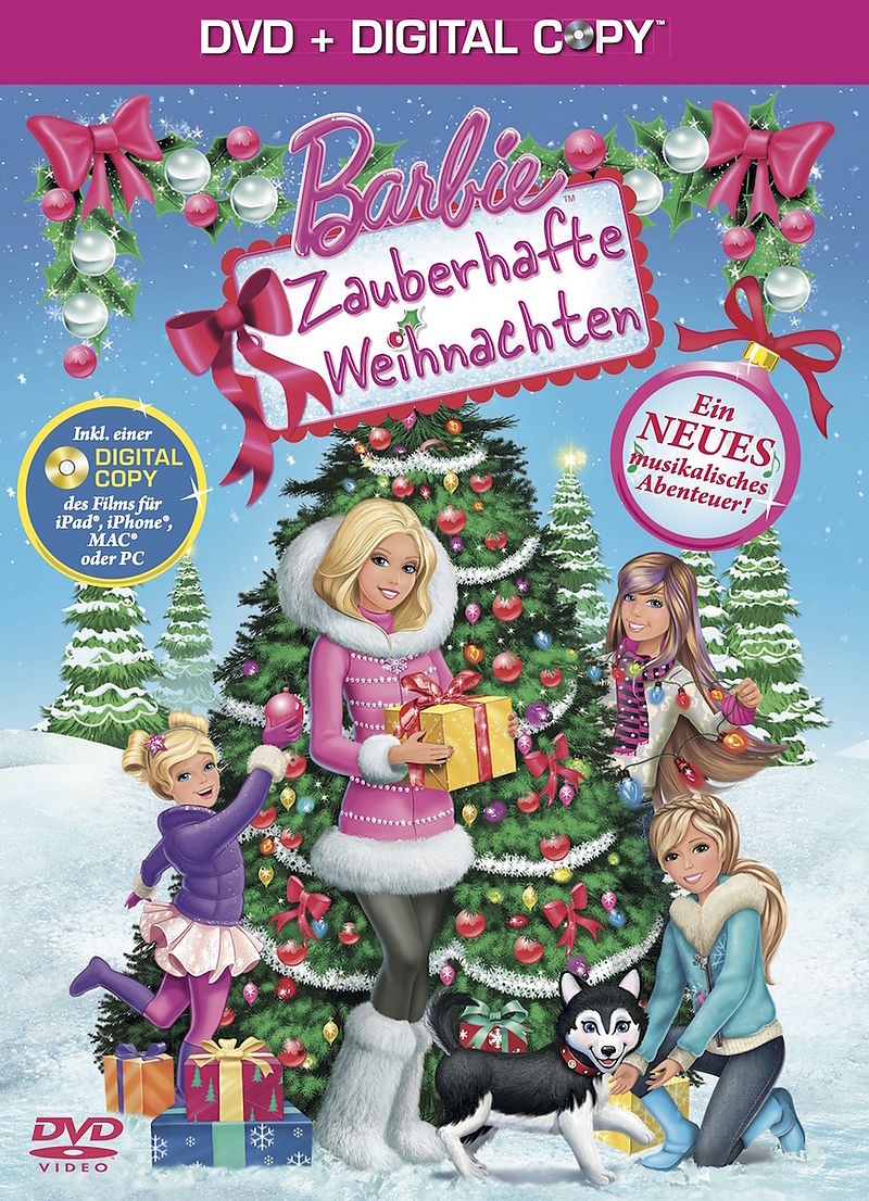 barbie zauberhafte weihnachten dvd acheter en ligne. Black Bedroom Furniture Sets. Home Design Ideas