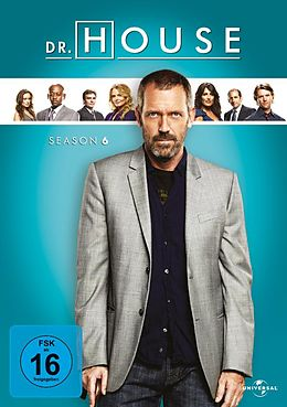 Dr. House - Season 6 / 2. Auflage DVD