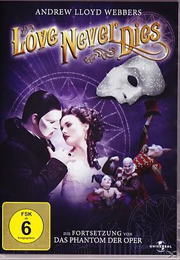 Andrew Lloyd Webbers Love Never Dies DVD