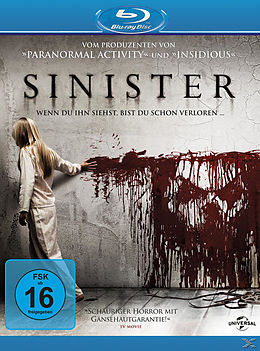 Sinister Blu-ray