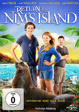 Die Rückkehr zur Insel der Abenteuer DVD