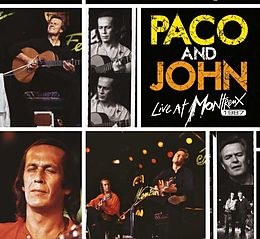 Paco & John Live At Montreux(cd/dvd)