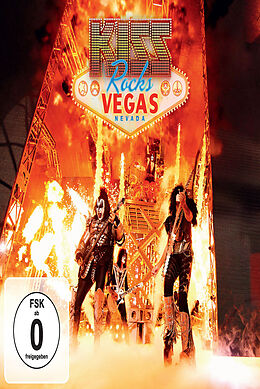 Kiss Rocks Vegas (Ltd.DVD+CD) [Versione tedesca]