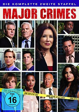 Major Crimes - Staffel 02 DVD