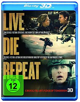 Edge of Tomorrow - Live Die Repeat Blu-ray 3D