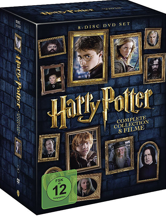 Harry potter complete collection dvd online kaufen for Sejour complet harry potter