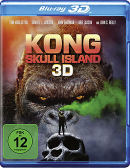 Kong: Skull Island Blu-ray 3D