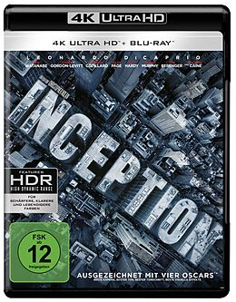 Inception Blu-ray UHD 4K