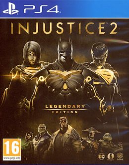 Injustice 2 - Legendary Edition [PS4] (D/F) als PlayStation 4-Spiel