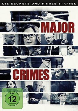 Major Crimes - Staffel 06 DVD