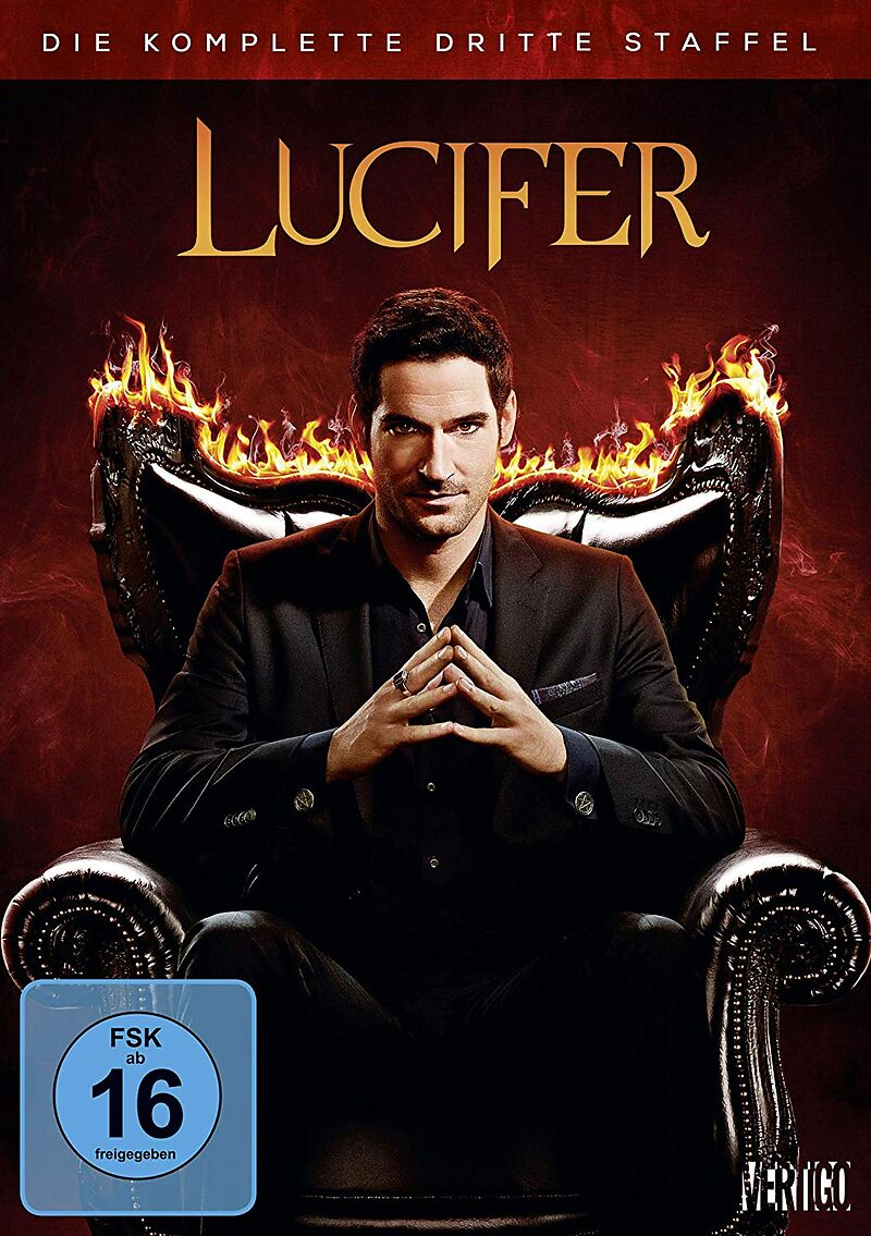 Lucifer Staffel 3 Dvd