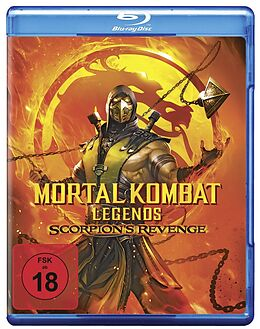 Mortal Kombat Legends: Scorpions Revenge Blu-ray