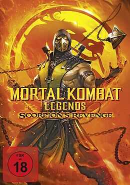 Mortal Kombat Legends: Scorpions Revenge DVD