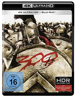 300 Blu-ray UHD 4K + Blu-ray