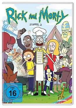 Rick & Morty-Staffel 2 DVD