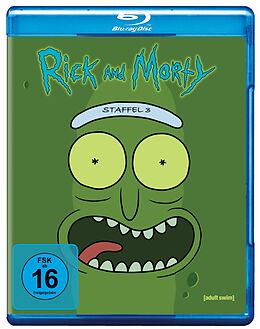 Rick & Morty Staffel 3 - Blu-ray Blu-ray