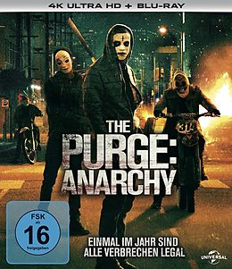 The Purge Trilogy - 4k Uhd Blu-ray