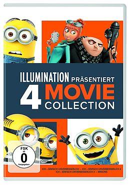 ICH - einfach unverbesserlich 1-3 & Minions DVD