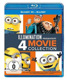 Ich - Einfach Unverbesserlich 1-3 & Minions (3d) - Blu-ray