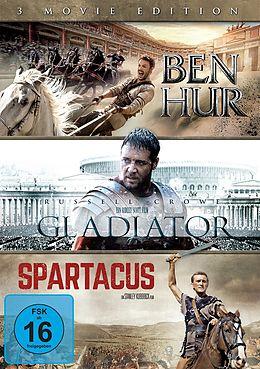 Ben Hur & Gladiator & Spartacus DVD