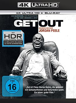 Get Out Blu-ray UHD 4K