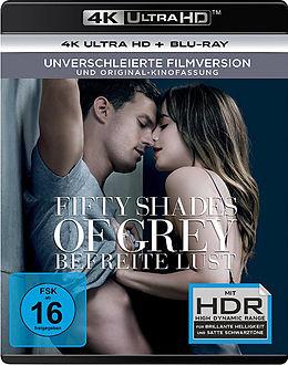 Fifty Shades Of Grey - Befreite Lust Blu-ray UHD 4K + Blu-ray