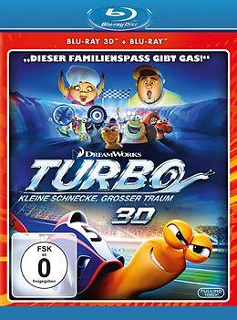 Turbo - Kleine Schnecke, grosser Traum Blu-ray 3D