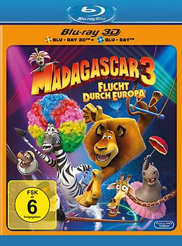 Madagascar 3 - Flucht durch Europa Blu-ray 3D