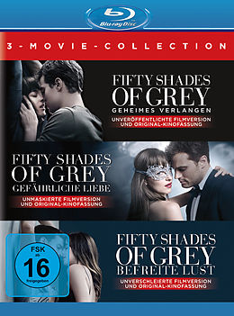Fifty Shades of Grey- 3 Movie Collection Blu-ray
