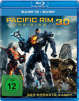 Pacific Rim - Uprising Blu-ray 3D