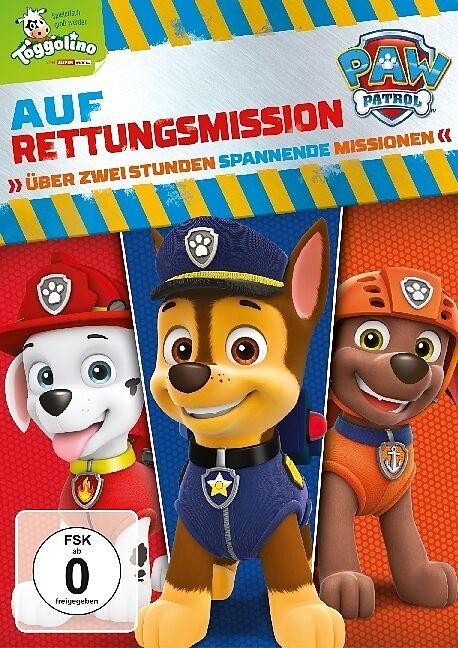 Paw Patrol auf Rettungsmission Cover