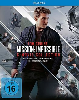 Mission Impossible 1-6 Box Blu-ray