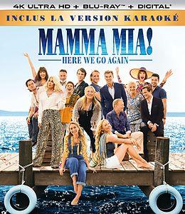 Mamma Mia! Here We Go Again Blu-ray UHD 4K