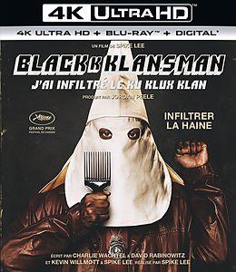 Blackkklansman Blu-ray UHD 4K