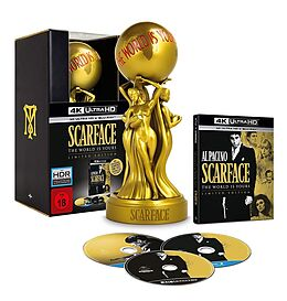 Scarface - The World Is Yours Limited Edition Blu-ray UHD 4K