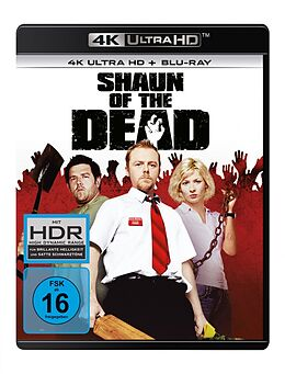 Shaun Of The Dead - 4k Uhd Blu-ray UHD 4K