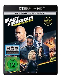 Fast & Furious: Hobbs & Shaw - 4k Uhd Blu-ray UHD 4K + Blu-ray