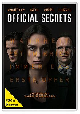 Official Secrets DVD