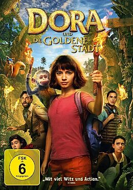 Dora und die goldene Stadt DVD