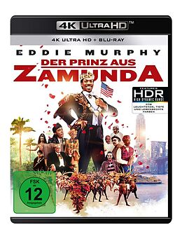Der Prinz aus Zamunda Blu-ray UHD 4K + Blu-ray
