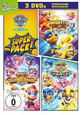 Paw Patrol - Mighty Pups 3er Pack DVD