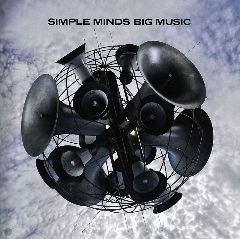 Big Music Simple Minds Cd Kaufen Exlibris Ch