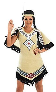 Indianerin Kostum S Wilder Westen Frauen Online Kaufen Ex Libris