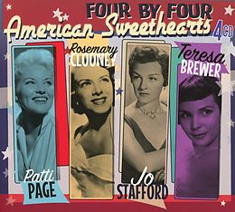 Patti Page/R.Clooney/Jo Staffo CD Four By Four - American Sweethearts