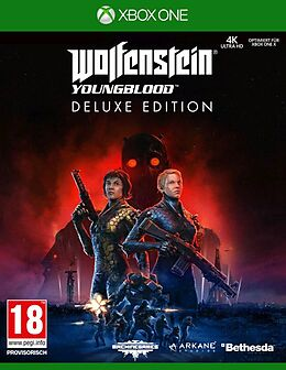 Wolfenstein: Youngblood Deluxe Edition [XONE] (D) als Xbox One-Spiel