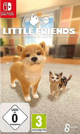 Little Friends: Dogs and Cats [NSW] (D) als Nintendo Switch-Spiel