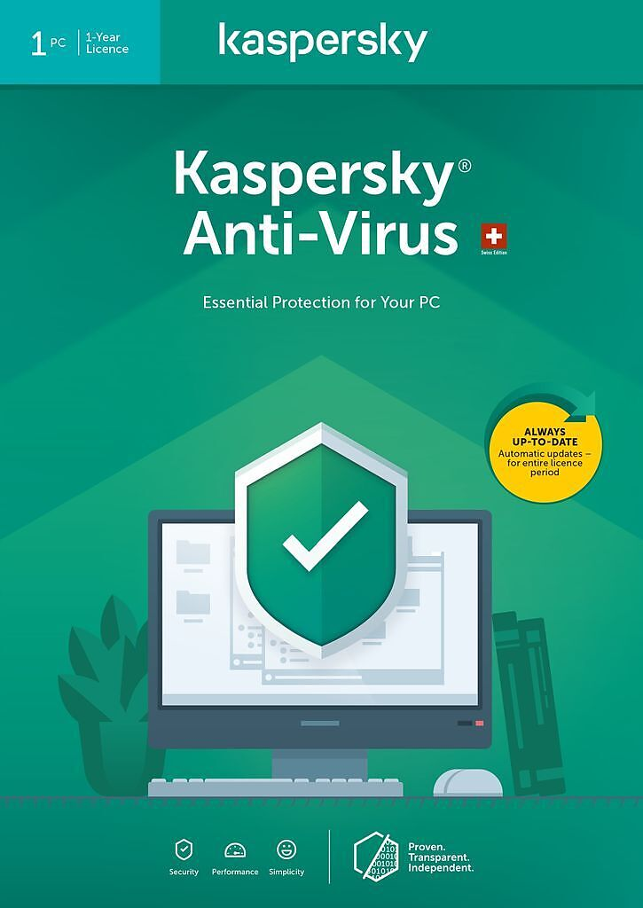 Kaspersky Anti-Virus (1 PC) [PC] (D/F/I)