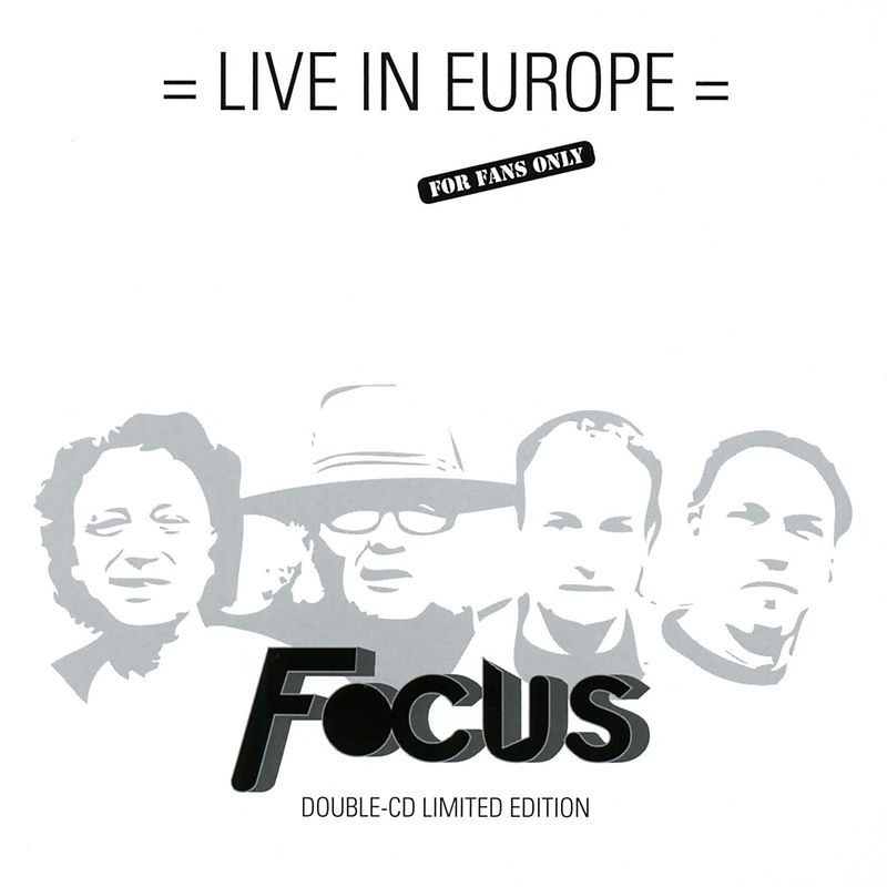 Live In Europe (Limited Edition 2cd)